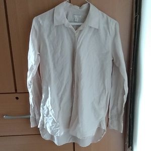 GAP silk-cotton blend button down blouse